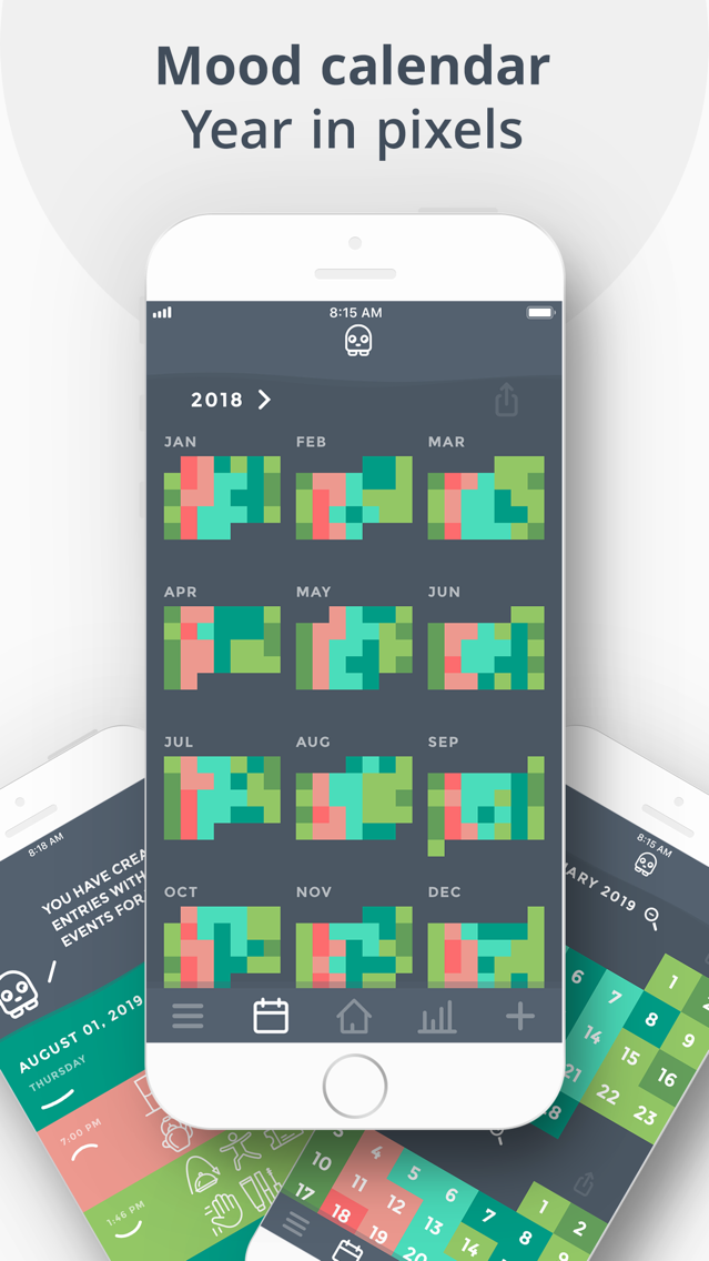 Moodistory Mood Tracker, Diary App for iPhone - Free