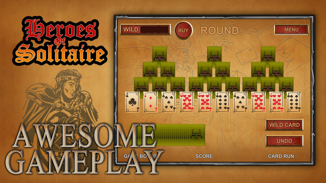 Heroes Of Solitaire - The Best Fun & Free Patience Card Game App for