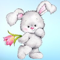 Cute Baby Animals Easter and Spring Sticker Pack