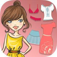 Dress up dolls & girls