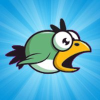 Goofy Bird Fly