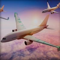 Airplane Flight : 3D Planet