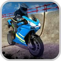 Motorcycle Racing: Hill Up Cha
