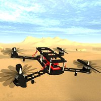 Free Flight Drone Simulator