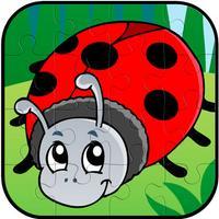 Bug Bird Animal Jigsaw Puzzle Fun For Kid Toddlers