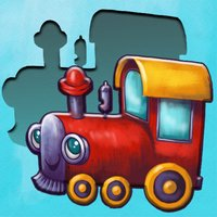 Puzzles for toddlers with train