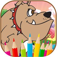Cute Dogs Coloring book For Kid