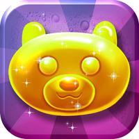 Candy Gummy Bears Match-3 - drop the yummy kids game mania hd free