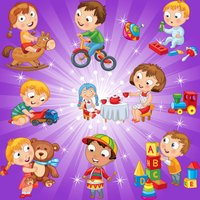 Toys Match Games for Toddlers