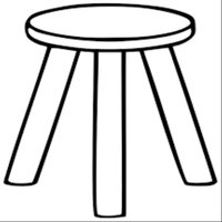 DHS Woodworking Stool