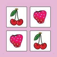 Fruit matching - find a match challenging game