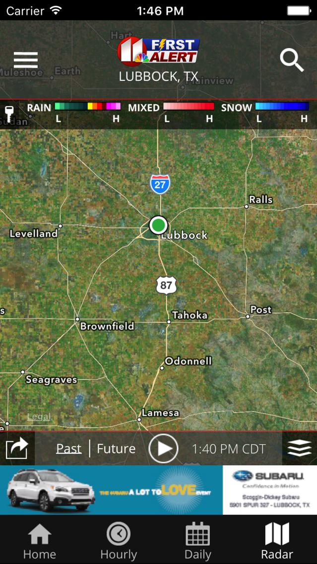 KCBD First Alert Weather App for iPhone - Free Download KCBD