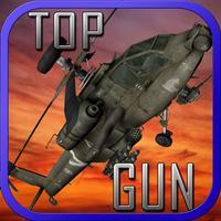 Apache Helicopter Shooting Apocalypse getaway game