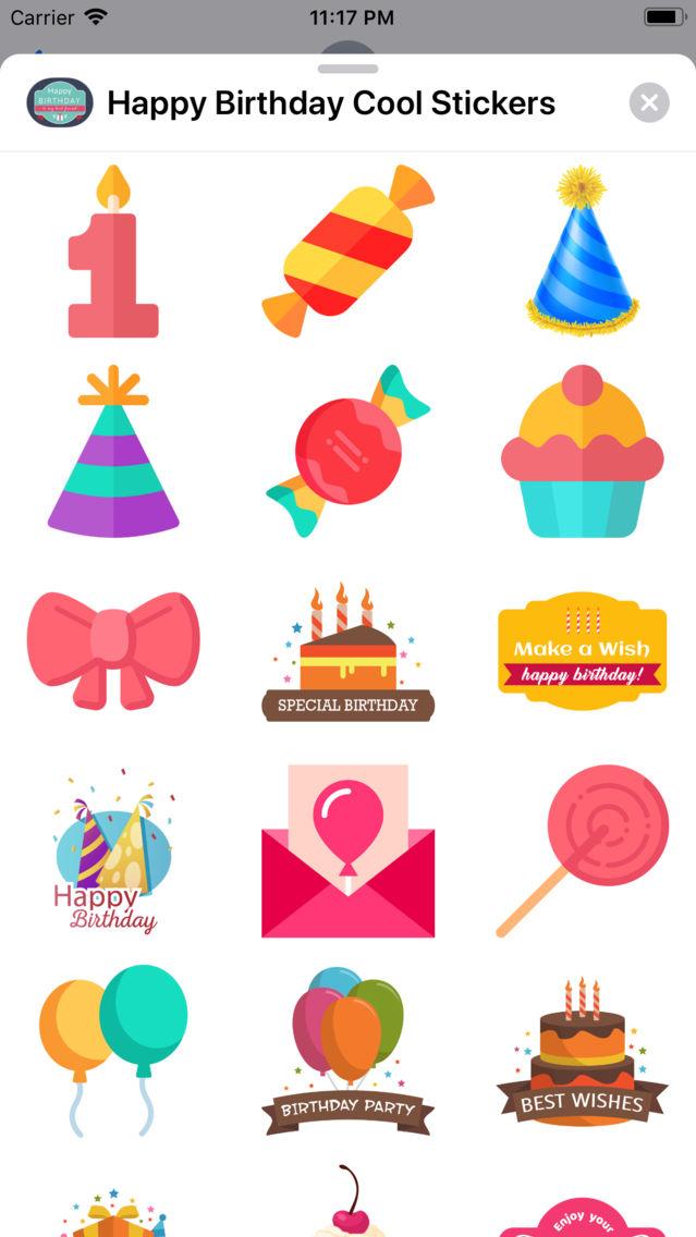 free happy birthday app for iphone