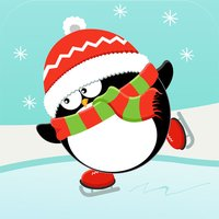 Christmas Penguin Card Game HD