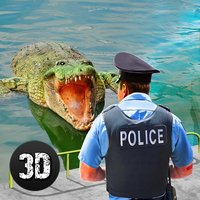Crazy Crocodile City Attack Quest 3D
