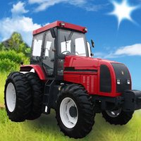 Farming Tractor Pro:Driving Simulator - Free  Offroad Truck Racing Game