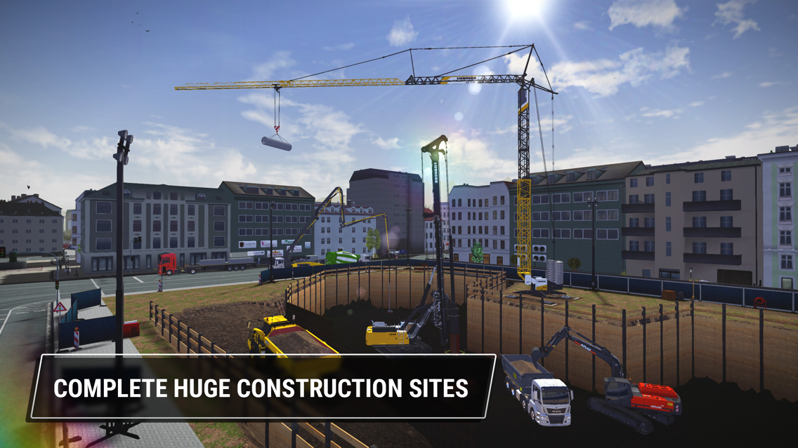 Construction Simulator 3 App for iPhone - Free Download