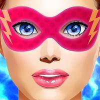 Bubble Girl Superhero