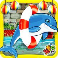 Dolphin Show for kids- Sea animal pool fun game