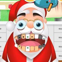 Santa Dentist Clinic Winter Snowman Game for girls