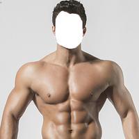 Bodybuilder Men-look Manage in body