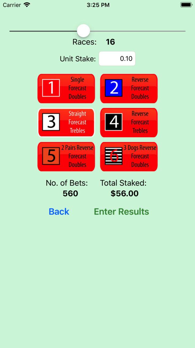 irish greyhound oaks betting calculator