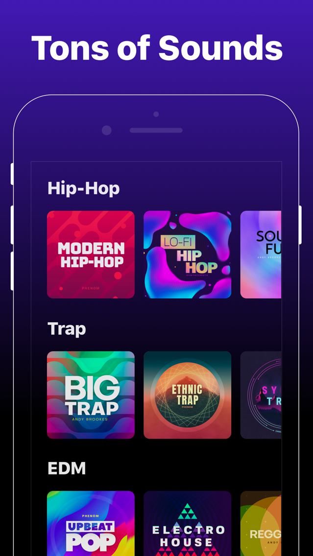 Groovepad - Music & Beat Maker App for iPhone - Free