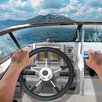 Drive Boat 3D Sea Crimea