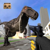 VR Dinosaur Hunter: City Dino Survival Game 3D