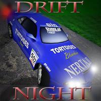 Reckless Night Drift Car Racing with Top Burnout