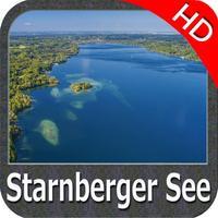 Lake : Starnberg HD - GPS Map Navigator