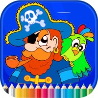 Pirate Coloring Book - Activities for Kids