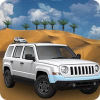 Desert Safari Jeep Racing