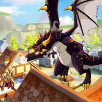 Dragon Coward - Fierce Dragon Destroyed The Town !