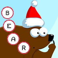 ABC Christmas games for children: Train your spell-ing skills with Xmas animals of the forest!
