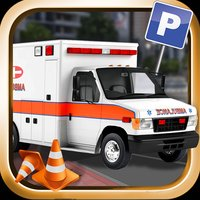 Ambulance Emergency Parking 3D - Real Heavy Car Driving Test Critical Mission