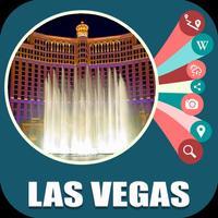 Las Vegas NV USA Travel Map
