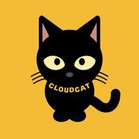 구름탄고양이-Cloudcat