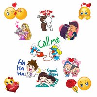 Emoticon Stickers - Cool Romance Emojis for chat