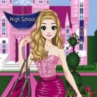 Back to School - Princess Anna Dress up Game