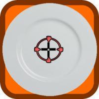 Cut Plates Ninja Shoot