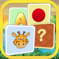 Super Pairs: Cards Match - Pair Matching Puzzle Game for Kids with shapes, colors, animals, letters and numbers