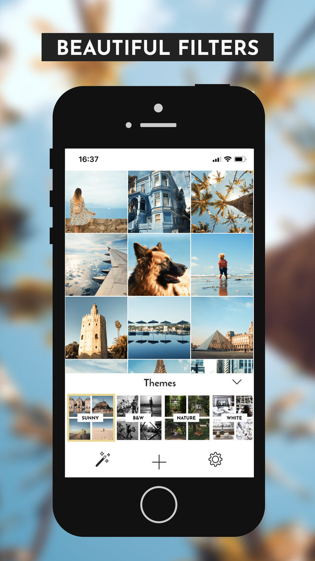 Mosaic: Instagram feed editor App for iPhone - Free Download