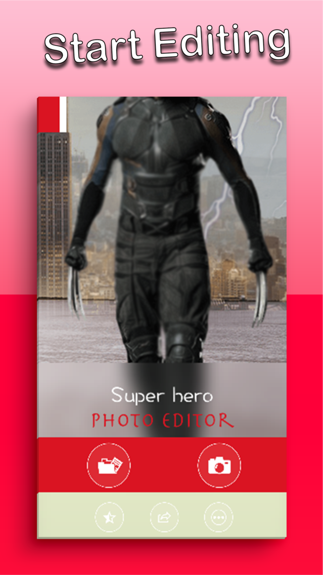 Super Hero Photo Editor Face App for iPhone - Free Download