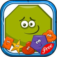 Learn English Vocabulary : Shape : learning games for kids - free!!