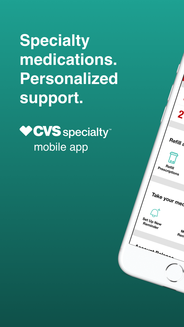 CVS Specialty App for iPhone - Free Download CVS Specialty
