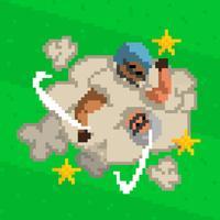 Bad Tackle - Atari Style Casual Arcade Endless Runner