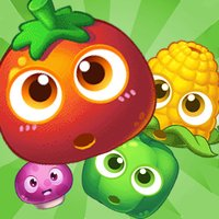 Sweet Farm Blast Vegetables Free Connect Match 3 Game