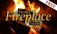 classic Fireplace FREE – relaxing and romantic fire flames
